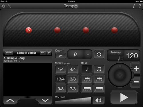 Metronome on iPad