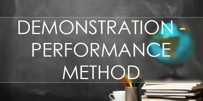 demonstration-performance